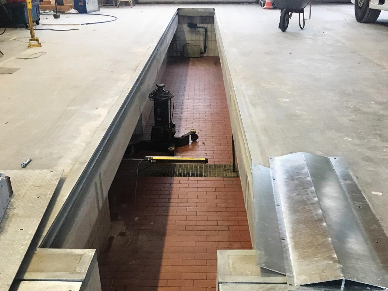 Abschluss der Sanierungsarbeiten LKW-Grube
